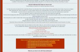 crypto wall 4.0 ransomeware, virus denver